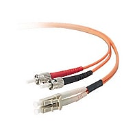 CDW 2 Meter Multimode LC/ST Duplex Fiber Optic Patch Cable 62.5/125
