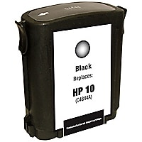 Clover Remanufactured Ink for HP 10 (C4844A), Black, 1,750 page yield