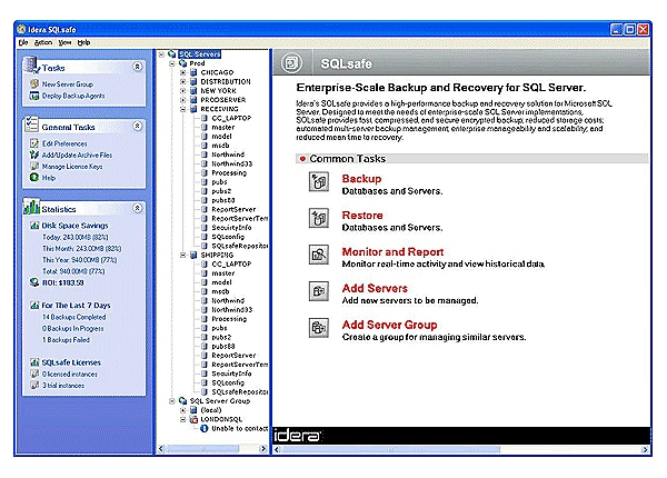 Idera SQL safe - box pack - 1 user