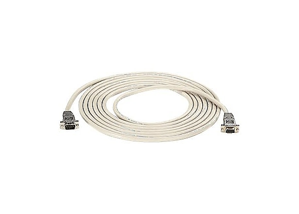 Black Box null modem cable - 10 ft