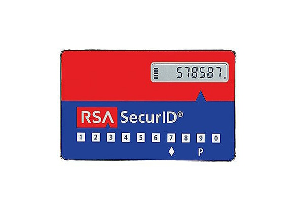 RSA SecurID SD520 PINpad 4 Year 50 User