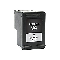 Clover Remanufactured Ink for HP 94 (C8765WN), Black, 480 page yield
