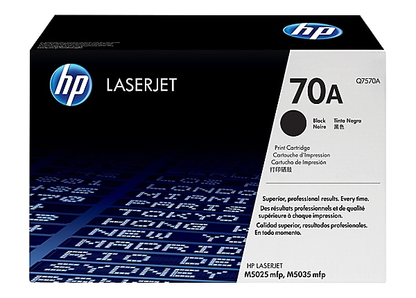 HP 70A Black Toner Cartridge