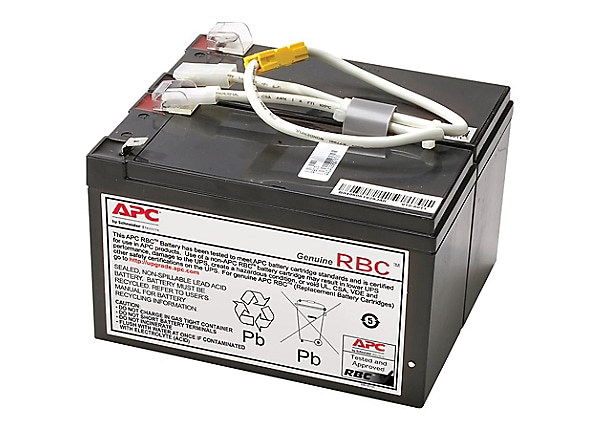 APC RBC5 Brand Replacement Battery Cartridge. FREE Battery Disposal Incl.