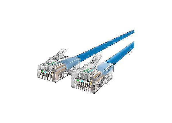 Belkin CAT5e/CAT5, 20ft, Blue, No-Boot, UTP, Patch Cable - CDW EXCLUSIVE