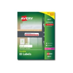 Avery Durable I.D. Labels