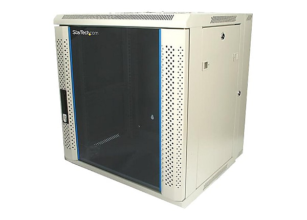 StarTech.com 12U 19in Hinged Wall Mount Server Rack Cabinet