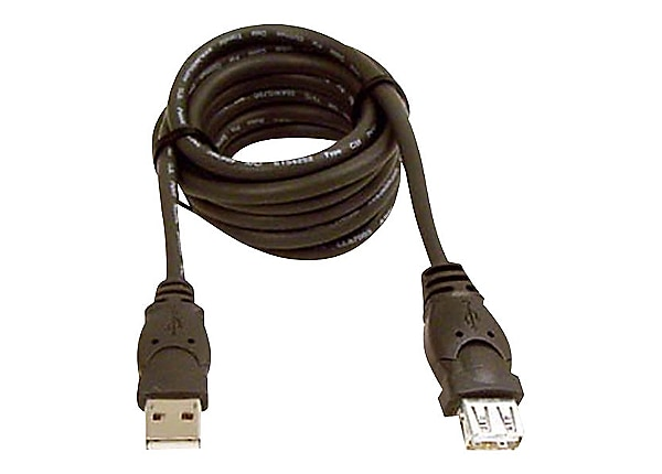 Belkin 10ft USB A/A 2.0 Extension Cable, M/F, 480Mps