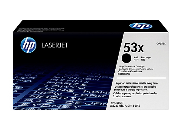 HP LaserJet 53X Black Toner Cartridge