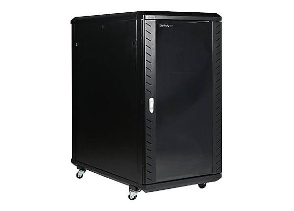 StarTech.com 22U 36in Knock-Down Server Rack Cabinet with Caster