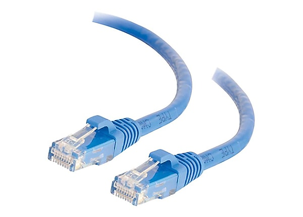 C2G 1ft Cat6 Snagless Unshielded (UTP) Network Patch Ethernet Cable Blue