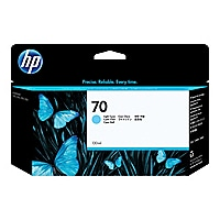 HP 70 - light cyan - original - ink cartridge