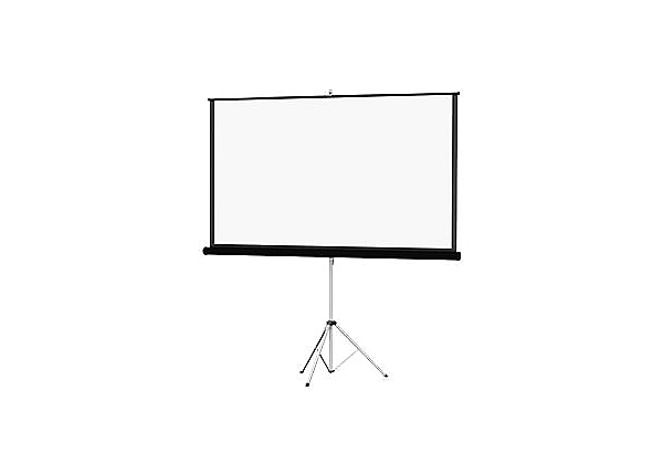 "Da-Lite Carpeted Picture King 96""x96"" Projector Screen (Gray Case)"