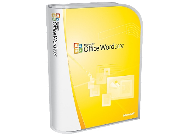 Microsoft Office Word 2007 - complete package