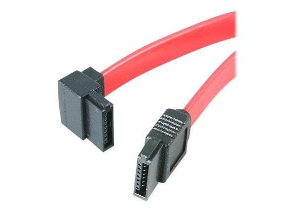 StarTech.com 18in SATA to Left Angle SATA Serial ATA Cable - F/F (SATA18LA1