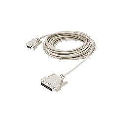 C2G null modem cable - 6 ft - white