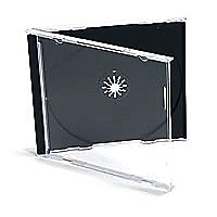MicroBoards Clear Jewel Case - 200 Pack
