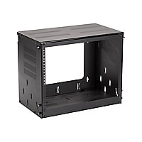 Black Box Bottom-Hinged Panel Wallmount Cabinet - network device enclosure/