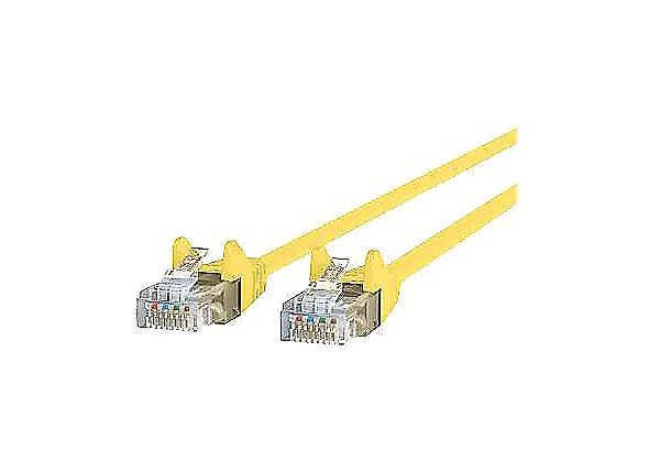 CDW 3ft Cat6 550Mhz Gigabit Snagless Patch Cable RJ45 - Yellow 3'