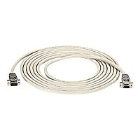 Black Box null modem cable - 50 ft