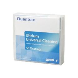 Quantum LTO Cleaning Cartridge - Single Pack, Custom Barcode Label