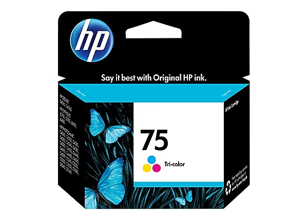 HP 75XL (CB338WN) Tri-color Original Ink Cartridge