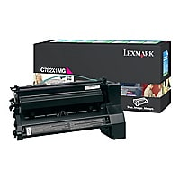 Lexmark C782 Extra High Yield Return Program Print Cartridge - Magenta