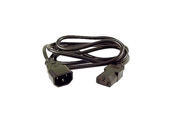 Belkin 2' Computer AC power extension cord (IEC 320 C13 to IEC 320 C14)