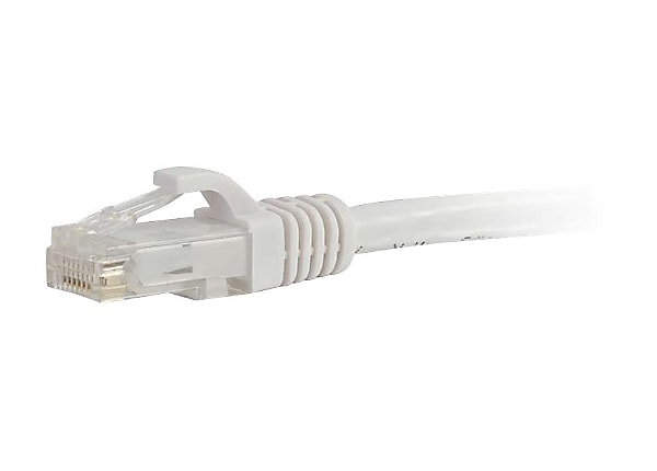 C2G 3ft Cat6 Snagless Unshielded (UTP) Network Patch Ethernet Cable - White