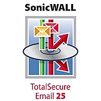 SonicWall TotalSecure Email Software 25 - subscription license renewal (3 y