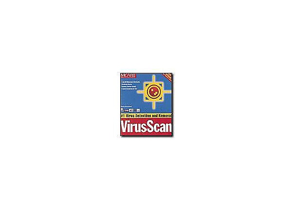 McAfee VirusScan 4.0 (v. 4.0) - box pack - 1 user