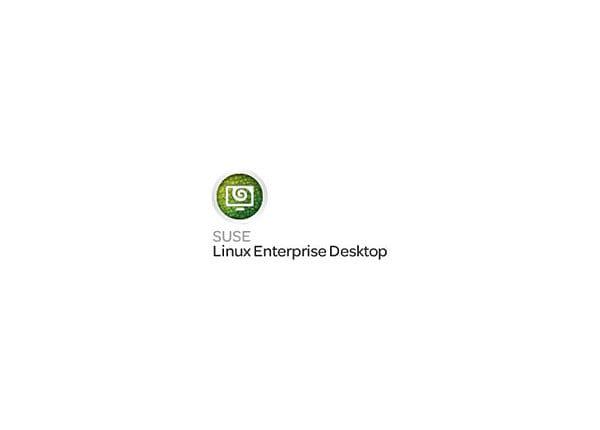 SuSE Linux Enterprise Desktop - subscription license - 1 student enrollment