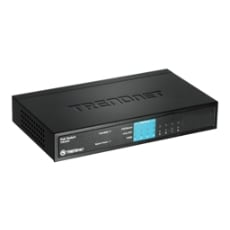 TRENDnet TPE-S44 8-Port 10/100Mbps PoE Fast Ethernet Switch