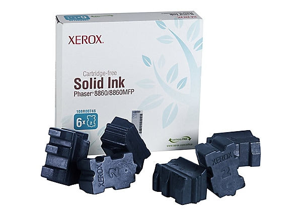 Xerox Phaser 8860/8860MFP Solid Ink Cyan