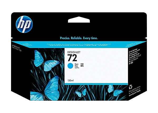 HP 72 - dye-based cyan - original - DesignJet - ink cartridge