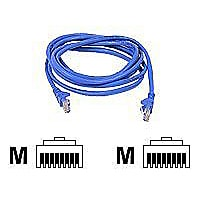 Belkin 18ft Blue Cat6 Snagless Patch Cable UTP 550MHz - Blue 18'