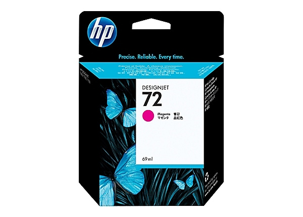 HP 72 - dye-based magenta - original - DesignJet - ink cartridge