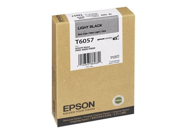 Epson T6057 Light Black Print Cartridge