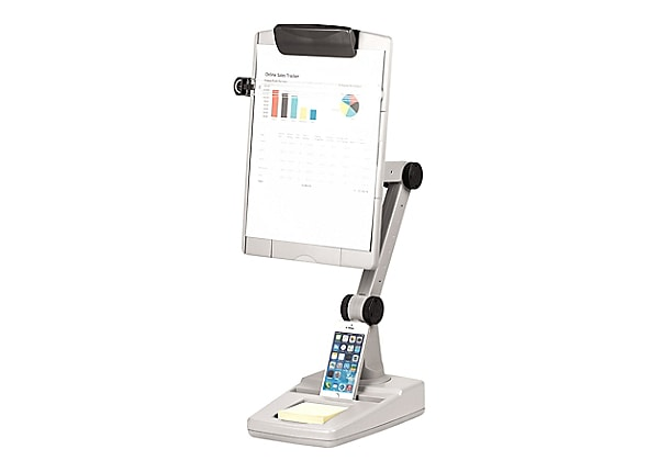 Fellowes Weighted Base Flex Arm Copyholder