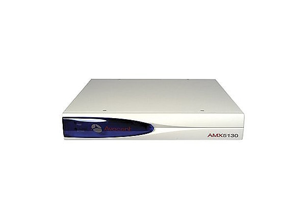 Avocent AMX 5130 User Station with AMIQDM-PS2 module - KVM / audio / serial