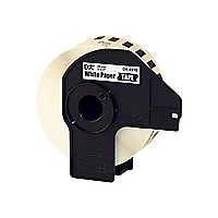 "Brother 1-1/7"" Continuous Length Paper Tape"