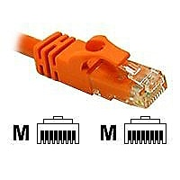 25ft CAT 6 550Mhz SNAGLESS CROSSOVER CABLE ORANGE