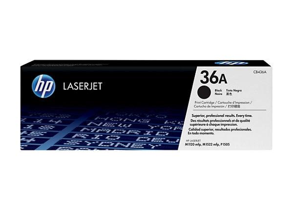 HP 36A Black Toner Cartridge