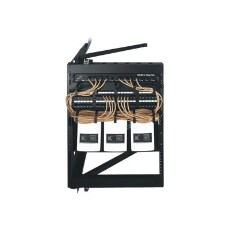 Middle Atlantic SFR 12-18 - wall mount cabinet with swing frame - 12U