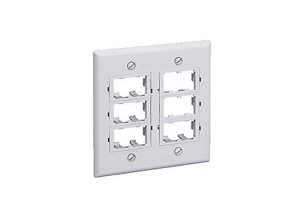 Panduit MINI-COM Classic Series Faceplate Kit - faceplate