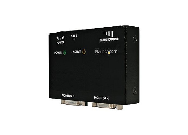 StarTech.com VGA over CAT 5 Remote Receiver for Video Extender