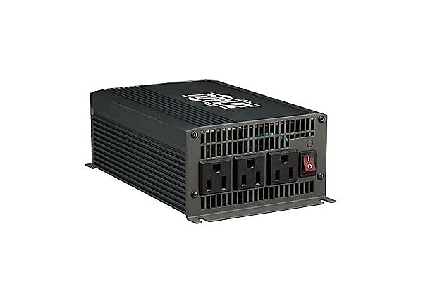 Tripp Lite Compact Inverter 700W 12V DC to AC 120V 5-15R 3 Outlets