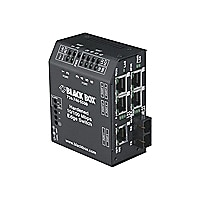 Black Box Hardened Heavy-Duty Edge Switch-100–240-VAC, ST