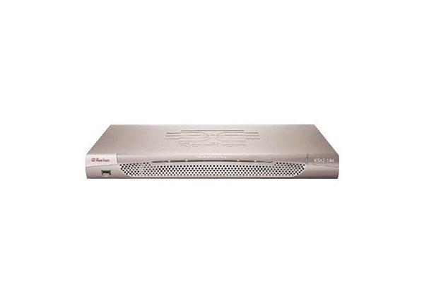 4-port KVM 4-port serial power control port w/built in modem w/rack mount