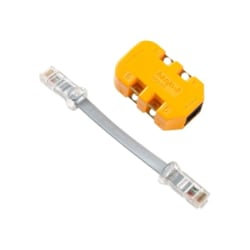 Fluke Networks 8-wire in-Line Modular Adapter with K-Plug - modular adapter